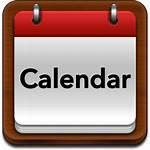 Calendar Icon Athletics
