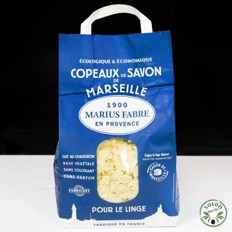 savon de marseille pour le linge copeaux de savon de marseille pour le linge marius fabre 980 g