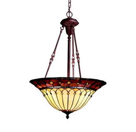 stained glass inverted pendant light pinterest the world s catalog of ideas