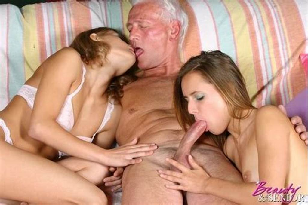 #Little #Girls #And #Their #Gramps #A #Threesome #Old #Guy,Blowjob