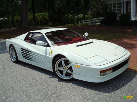 1991 Bianco (White) Ferrari Testarossa #24436556 Photo #60 ...