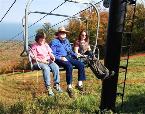 fall color chairlift rides start the season at porcupine