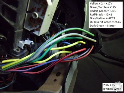 Used 2002 F250 Wiring Harnes by 2002 2005 F 250 And F 350 Remote Start Pictorial