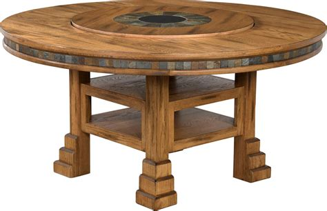Rustic Oak Round Dining Table Oak Round Table 60 Quot Oak