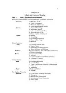 outline  ma philosophy punjab university