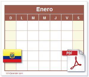 calendario dias feriados ecuador