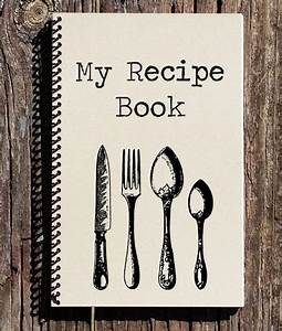 Where Can I Buy A Graph Paper Notebook Recipe Book Recipe Journal My Recipes Notebook Journal Etsy