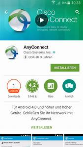 Mobil App Bielefeld : faq campusnetz vpn installation cisco anyconnect bei android ios windows mobile fh ~ Orissabook.com Haus und Dekorationen