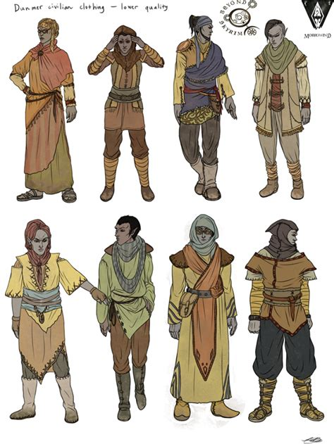 Concepts From The Province Of Morrowind This Time