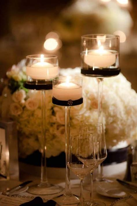 1000 ideas about black and white centerpieces on