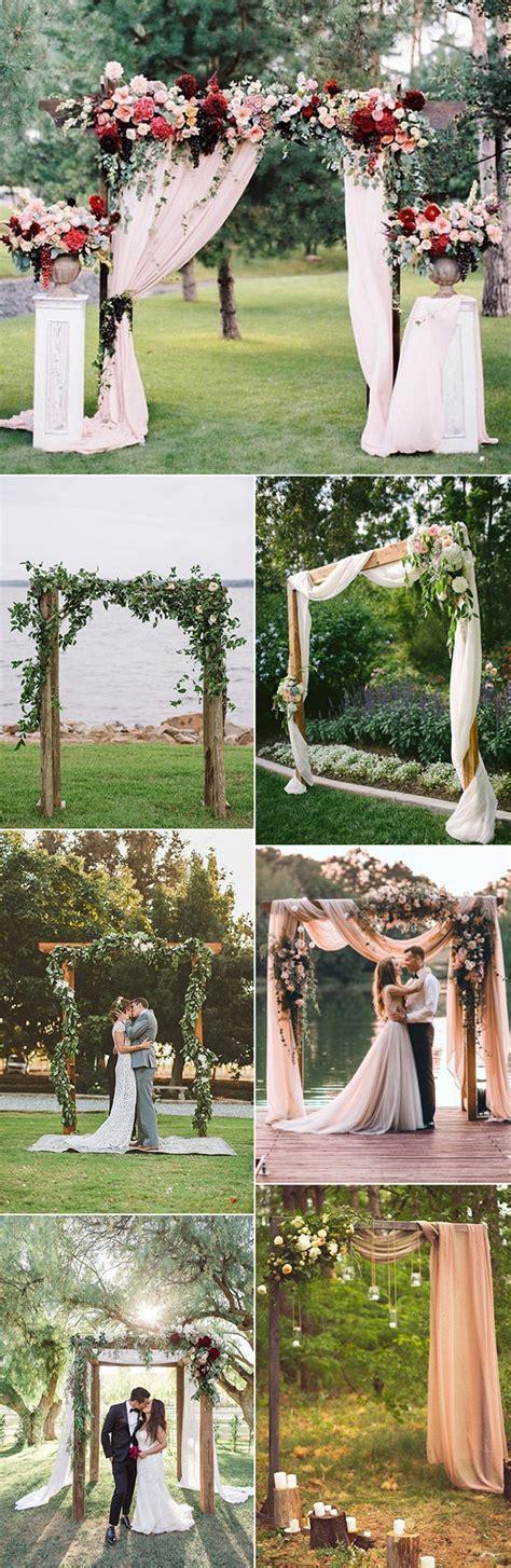 35 brilliant outdoor wedding decoration ideas for 2018 trends emmalovesweddings