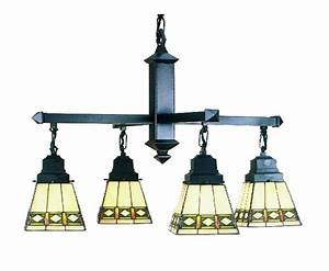 Meyda diamond four light chandelier