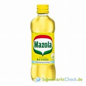 Mazola Keimöl Test : mazola keim l kalorien angebote preise ~ Lizthompson.info Haus und Dekorationen