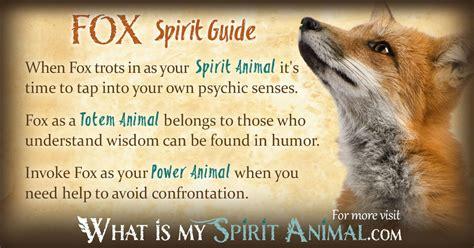 fox symbolism meaning spirit totem power animal