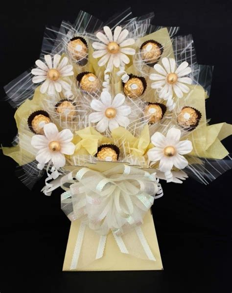 ferrero rocher chocolate flowers bouquet chocolate