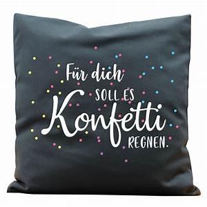 Kissen Rückenlehne Wand : kissen konfetti regnen von wandtattoo loft ~ Eleganceandgraceweddings.com Haus und Dekorationen