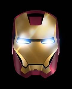 Iron Man in Illustrator and Photoshop