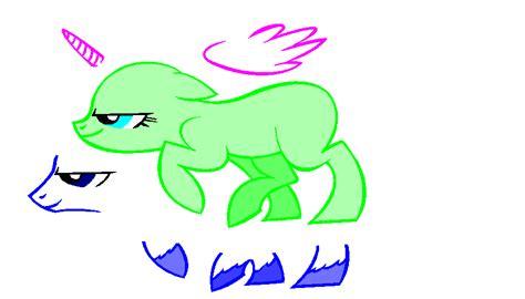 Sneaky Pony Base By Pokefreak33 On Deviantart