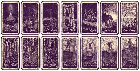 light visions tarot deck james  eads illustration design