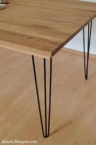 Hairpin Tischbeine Ikea : hairpin legs stahl tischbeine metall esstisch bauen diy hairpinlegs eiche holz tisch ~ Eleganceandgraceweddings.com Haus und Dekorationen