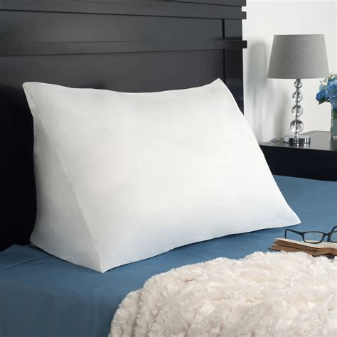 the wedge pillow broyhill adjustable gel memory foam wedge bed pillow