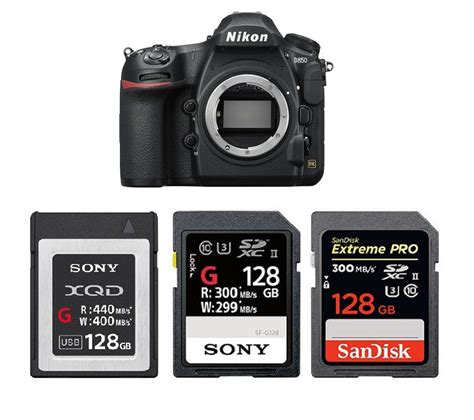 Best Memory Cards for Nikon D850 Nikon Camera Rumors