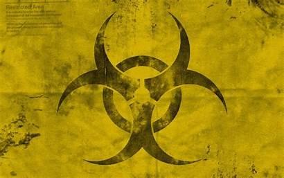 Symbol Radioactive Biohazard Wallpapers Cave Wallpapertag Xp