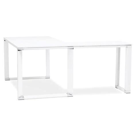 bureau d angle design blanc bureau d 39 angle design quot hovik quot bois blanc
