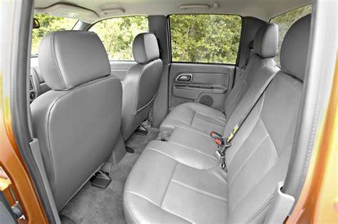 chevrolet colorado crew cab rear seats picture