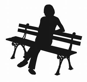 Person Sitting On Bench Silhouette | www.pixshark.com ...