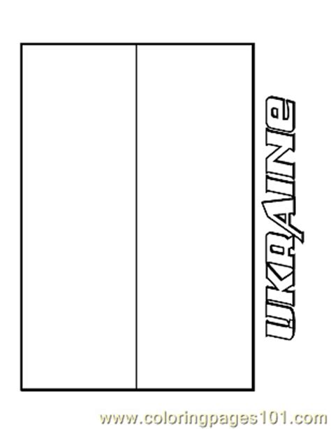 ukraine coloring page  flags coloring pages