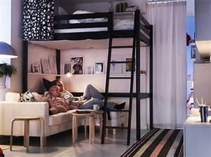 Lit Mezzanine Double : best 25 lit mezzanine ideas on pinterest mezzanine ~ Premium-room.com Idées de Décoration
