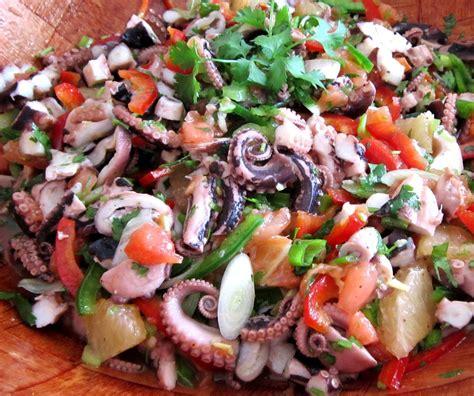 cuisiner des haricots blancs salade de poulpes aux tomates et 4 céréales