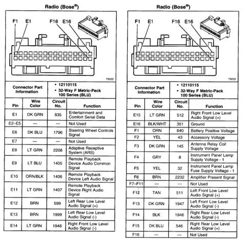Buick Car Radio Stereo Audio Wiring Diagram Autoradio