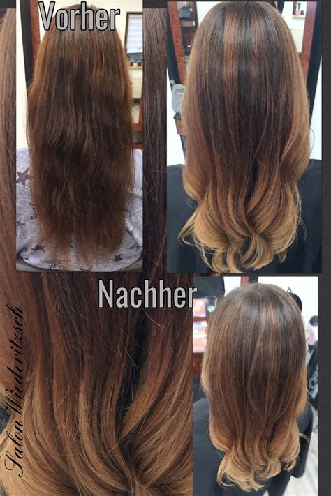 ombre braun rot balayage longhair langes haar sombr 233 ombr 233 blond