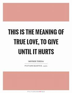 This is the mea... Hurt Meaning Quotes