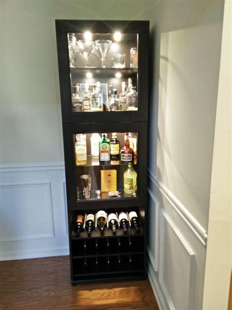 Corner Liquor Cabinet Ideas by Black Corner Liquor Cabinet With Glass Doors And