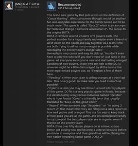 Dota 2 As Told By Steam Reviews Kotaku Australia