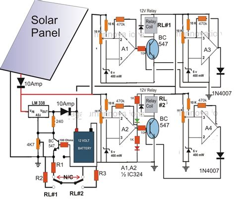wiring diagram for solar panel to battery free wiring diagram