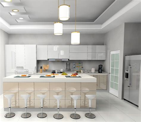 gloss kitchen cabinets jisheng white gloss kitchen cabinet designs idea daban kitchen 4565