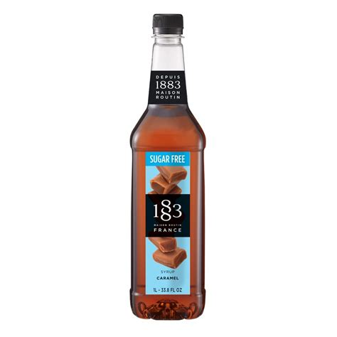 Depending on the ingredients in your syrup, it might interact differently with the ingredients of your drink. 1883 Sugar Free Caramel Syrup 1000 ml - Geva Coffee