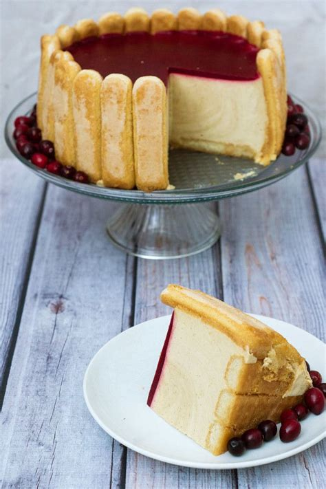 cranberry apple charlotte cake recipe southern flavors