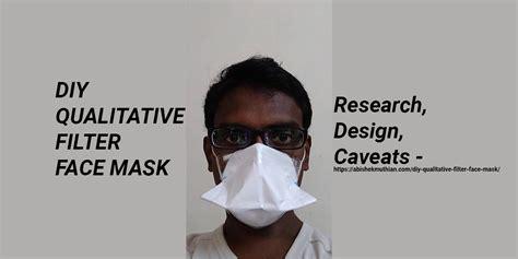 diy qualitative filter face mask  tallest dwarf