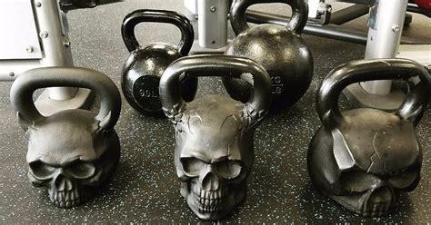 skull kettlebells fitness popsugar