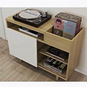 Meuble Pour Vinyle : les 25 meilleures id es de la cat gorie meuble vinyle sur pinterest rangement vinyle stockage ~ Teatrodelosmanantiales.com Idées de Décoration