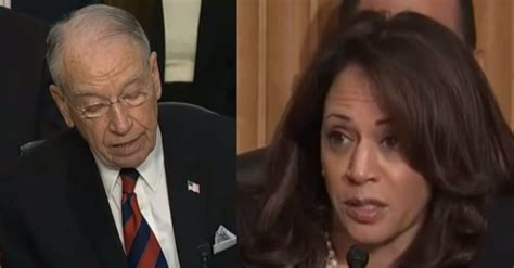 Chuck Grassley Schedules Vote For Kavanaugh And Kamala