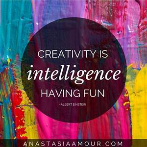 The gallery for --> Creativity Is Intelligence Having Fun