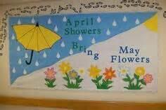 april showers bring may flowers bulletin board ideas april showers bring may flowers bulletin board s door