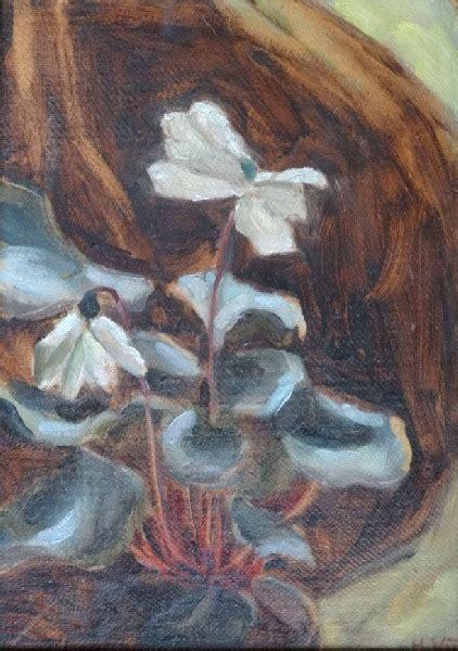 Alpu vijolītes - Vīka Hilda - Klasiskās mākslas galerija ANTONIJA
