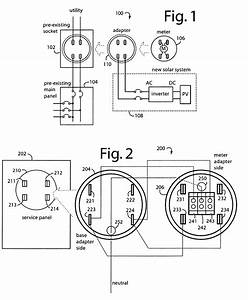 Residential Meter Socket Wiring Diagram